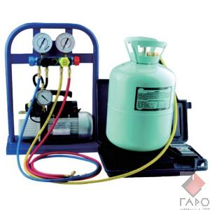 Комплектк для заправки кондиционеров с ручным управлением SPIN 01.012.02