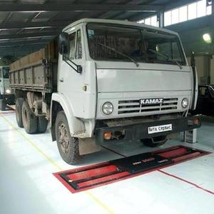 Линия тех.контроля универсальная для легковых, грузовых автомобилей и микроавтобусов до 16 т на ось ЛТК-С 16000.02
