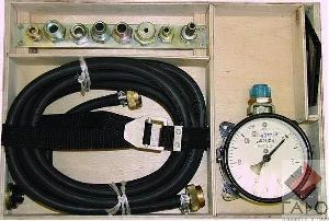прибор для проверки пневмопривода тормозов М100.02