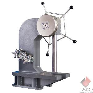 Пресс для запрессовки и кернения крестовин карданных валов ПР-6